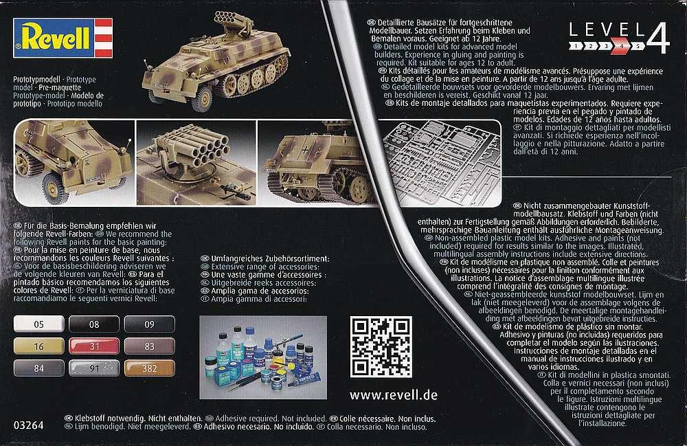 Revell-03264-sWS-with-15cm-Panzerwerfer42-19 sWS mit 15cm Panzerwerfer42 im Maßstab 1:72 von Revell 03264