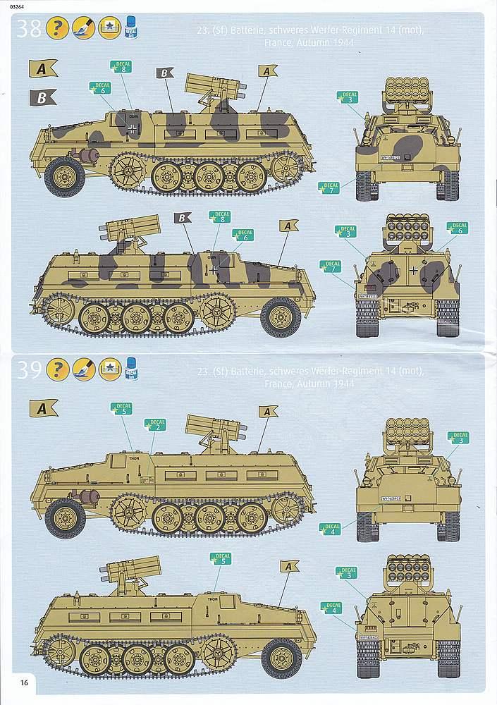 Revell-03264-sWS-with-15cm-Panzerwerfer42-21 sWS mit 15cm Panzerwerfer42 im Maßstab 1:72 von Revell 03264