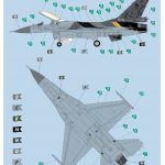 Revell-03905-F-16-MLU-100-Jahre-Florennes-15-150x150 F-16 MLU 100th anniversary 1st Squadron, Florennes in 1:72 von Revell 03905