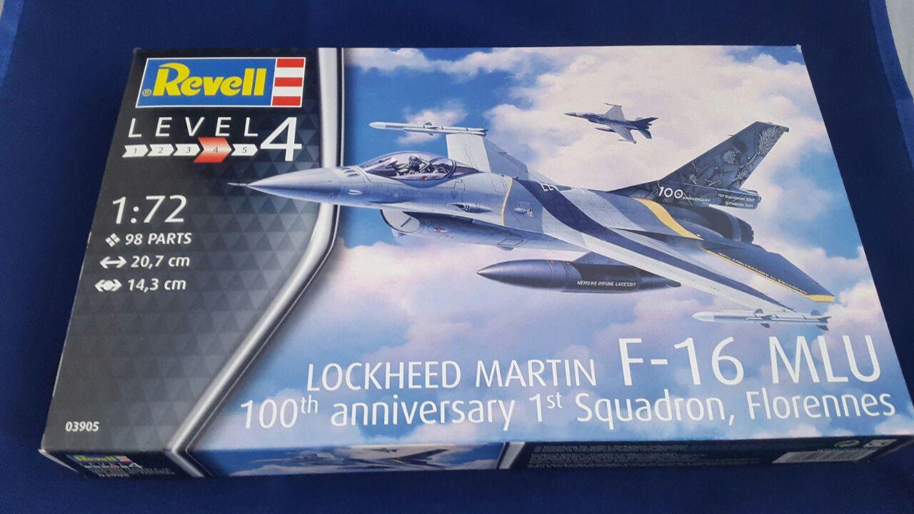 Revell-03905-F-16-MLU-100-Jahre-Florennes-19 F-16 MLU 100th anniversary 1st Squadron, Florennes in 1:72 von Revell 03905