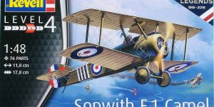 Sopwith F.1 Camel in 1:48 Revell 03906