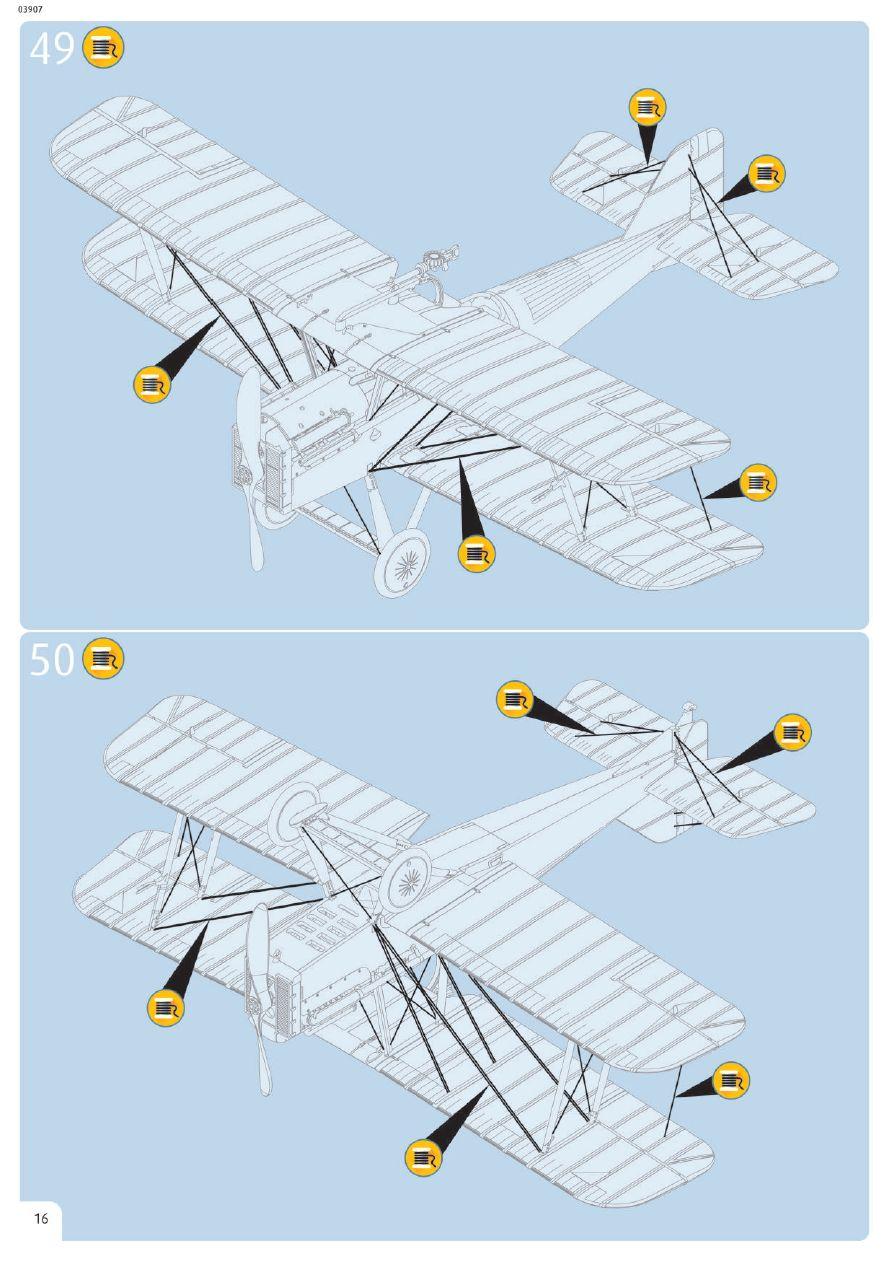 Revell-03907-S.E.-5a-100-Years-RAF-Bauanleitung-12 RAF SE 5a British Legends im Maßstab 1:48 von Revell 03907