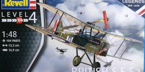RAF SE 5a British Legends im Maßstab 1:48 von Revell 03907