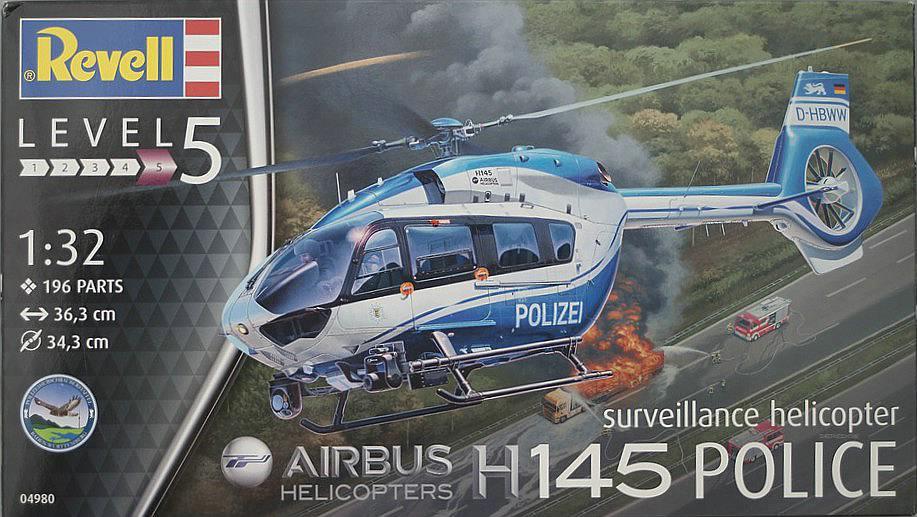 Revell-04980-H-145-Polizei-23 Airbus Helicopters H 145 Polizei im Maßstab 1:32 von Revell 04980