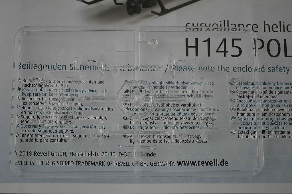 Revell-04980-H-145-Polizei-8 Airbus Helicopters H 145 Polizei im Maßstab 1:32 von Revell 04980