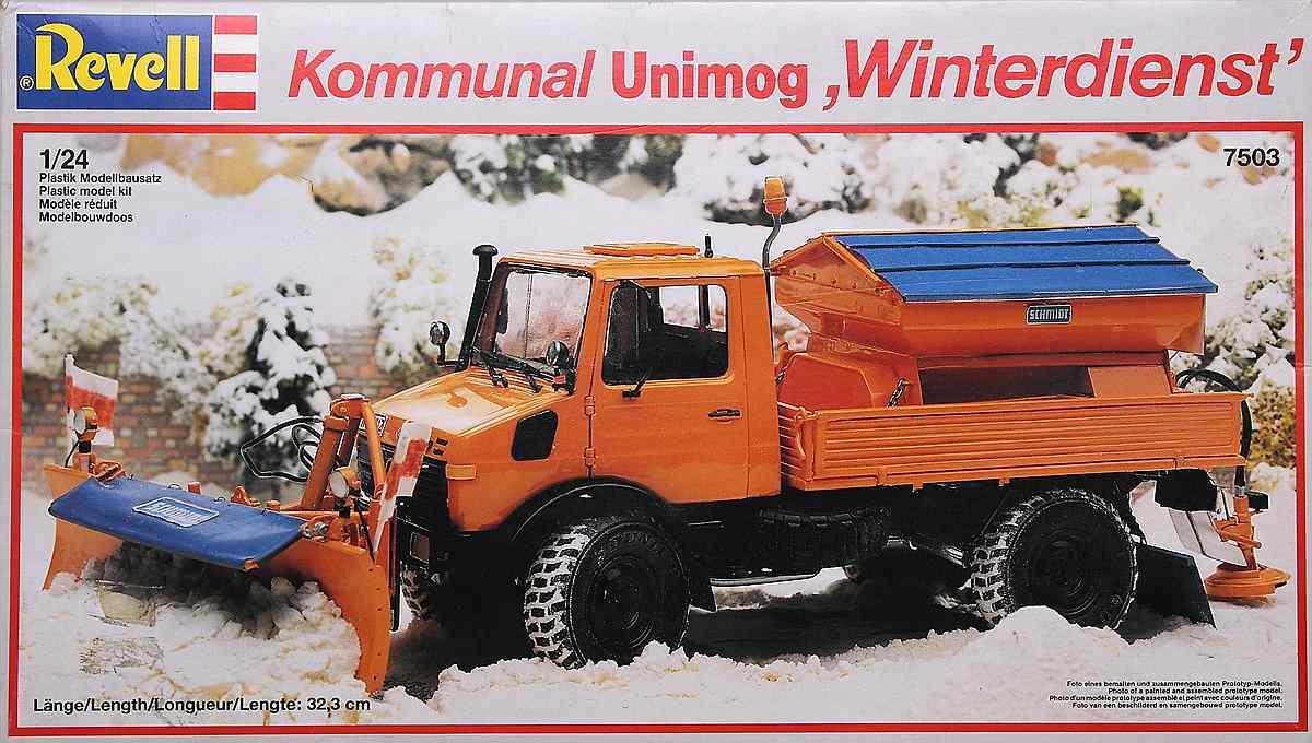 Revell-07438-Mercedes-Benz-Unimog-U-1300-L-Winterdienst-6 Mercedes Benz Unimog U 1300 L Winterdienst im Maßstab 1:24 von Revell 07438