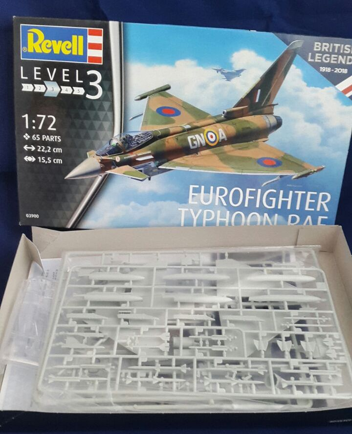 Revell-3900-Eurofighter-British-Legends-6 Eurofighter Typhoon RAF British Legends in 1:72 von Revell 3900