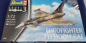 Eurofighter Typhoon RAF British Legends in 1:72 von Revell 3900