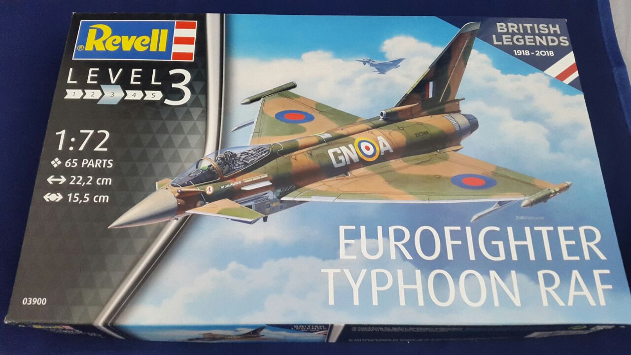 Revell-3900-Eurofighter-British-Legends-8 Eurofighter Typhoon RAF British Legends in 1:72 von Revell 3900