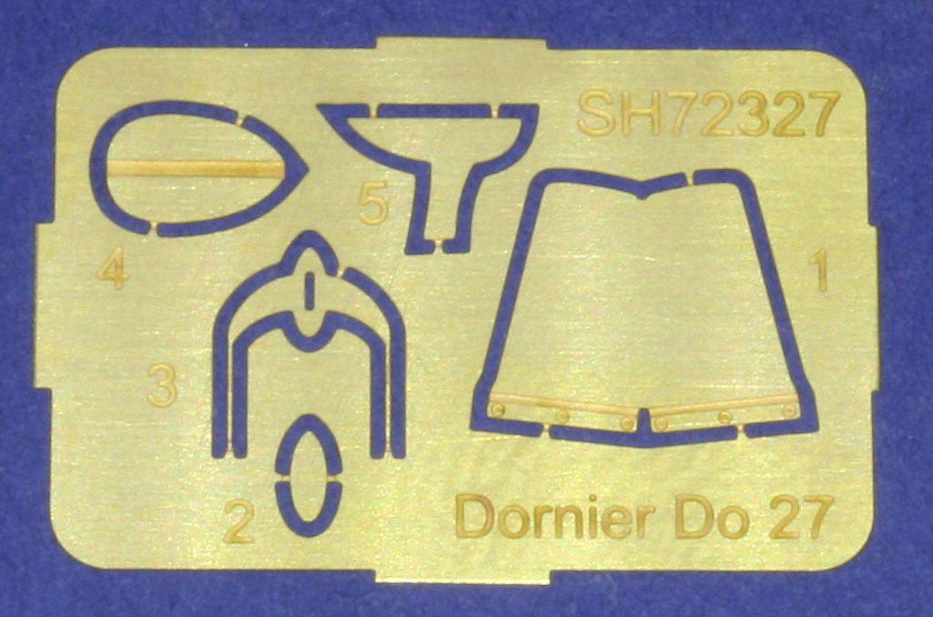 Special-Hobby-72327-Dornier-Do-27-10 Dornier Do 27 / Casa C-127 im Maßstab 1:72 von Special Hobby SH 72327