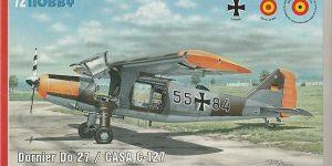 Dornier Do 27 / Casa C-127 im Maßstab 1:72 von Special Hobby SH 72327