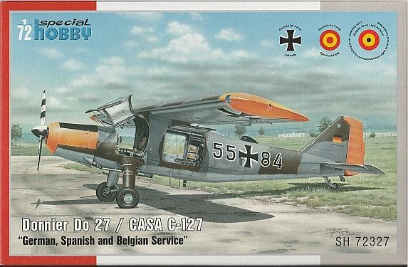 Special-Hobby-72327-Dornier-Do-27-2 Dornier Do 27 / Casa C-127 im Maßstab 1:72 von Special Hobby SH 72327
