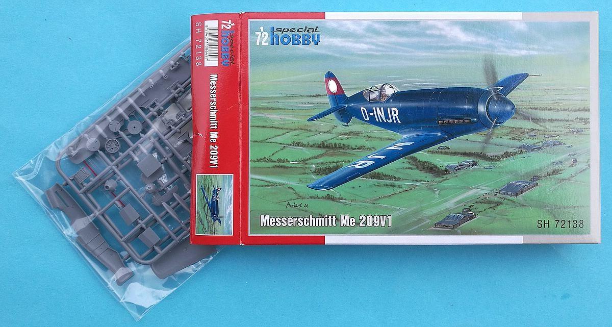 Special-Hobby-SH-72138-Messerschmitt-Me-209V1-22 Messerschmitt Me 209 V1 im Maßstab 1:72 von Special Hobby SH 72138