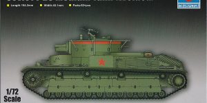 Soviet T-28 Medium Tank (Welded) Trumpeter 07150