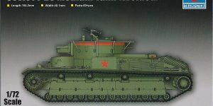Soviet T-28 Medium Tank (Welded) Trumpeter 07150
