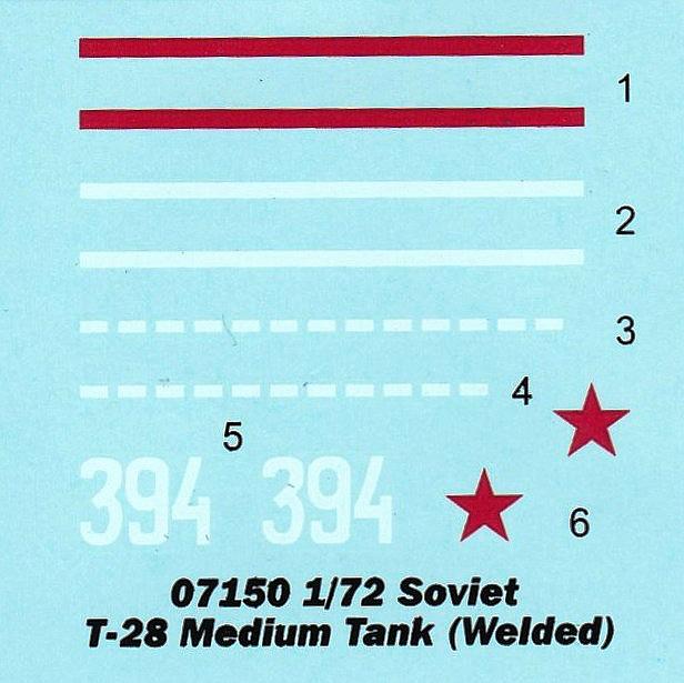 Trumpeter-07150-Soviet-T-28-Medium-Tank-Welded-2 Soviet T-28 Medium Tank (Welded) Trumpeter 07150