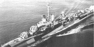 12. April 1945: Versenkung der USS Mannert L. Abele durch eine Ohka-Einheit