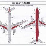 Zvezda-7023-Tupolev-Tu-204-100-19-150x150 Tupolev Tu 204-100 im Maßstab 1:144 von Zvezda 7023