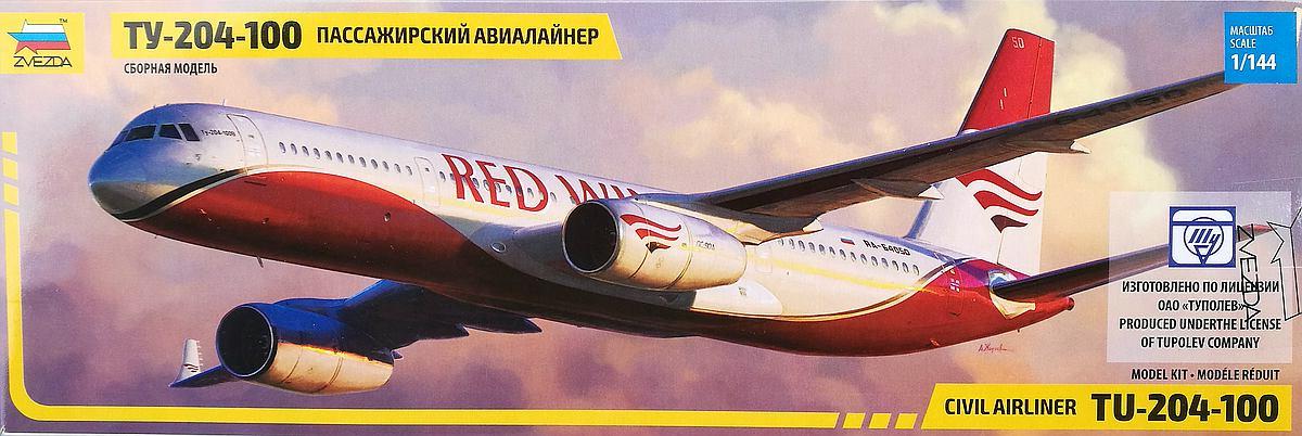Zvezda-7023-Tupolev-Tu-204-100-23 Tupolev Tu 204-100 im Maßstab 1:144 von Zvezda 7023