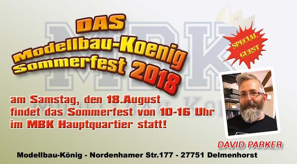 sommerfest18 Sommerfest bei Modellbau König am 18. August