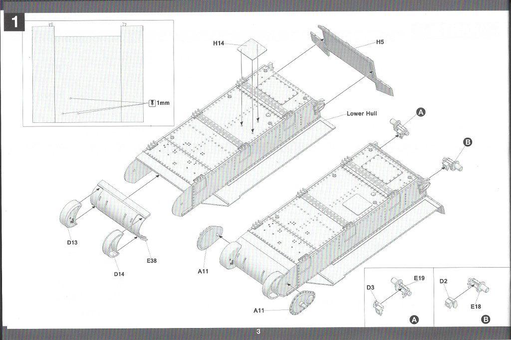 Anleitung04-3-1024x681 US Medium Tank M3 Lee Late 1:35 Takom (2087)
