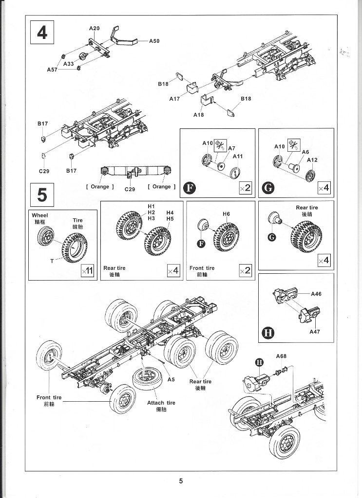 Anleitung05-4-743x1024 M109A3 2.5-Ton 6×6 Shop Van 1:35 AFV Club (#AF35304)