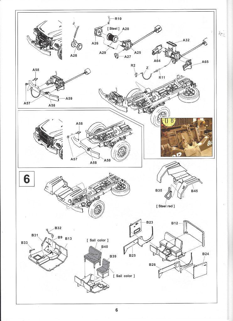 Anleitung06-4-743x1024 M109A3 2.5-Ton 6×6 Shop Van 1:35 AFV Club (#AF35304)