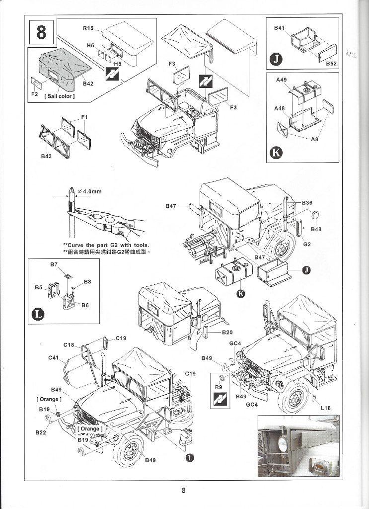 Anleitung08-4-743x1024 M109A3 2.5-Ton 6×6 Shop Van 1:35 AFV Club (#AF35304)