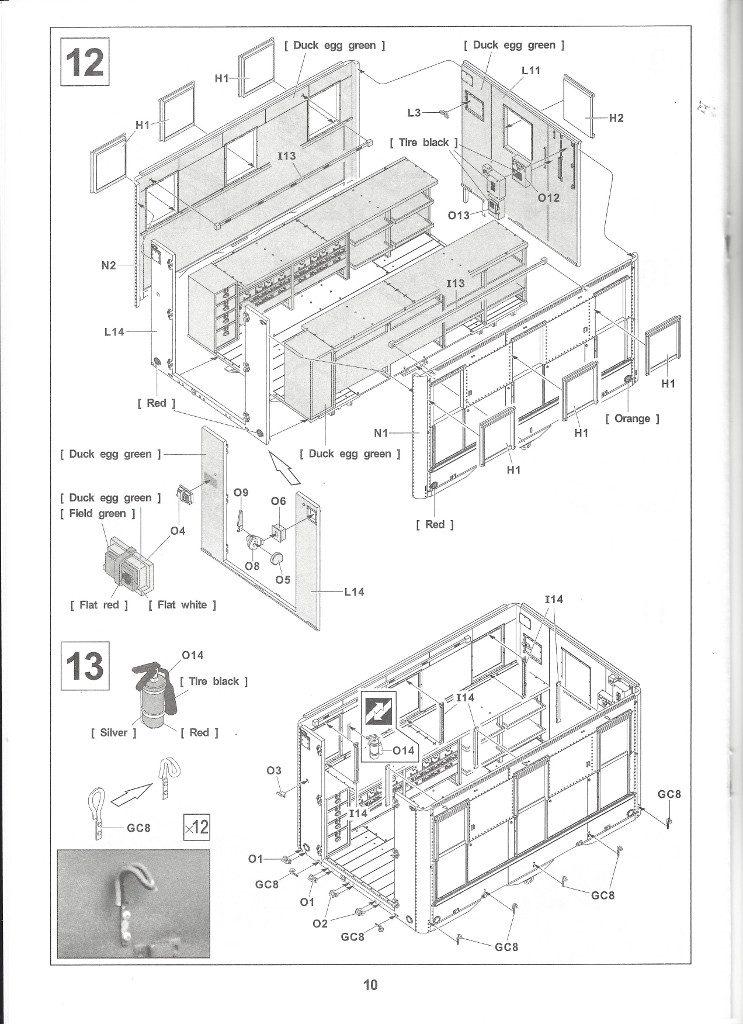 Anleitung10-3-743x1024 M109A3 2.5-Ton 6×6 Shop Van 1:35 AFV Club (#AF35304)