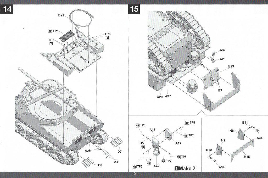 Anleitung11-2-1024x680 US Medium Tank M3 Lee Late 1:35 Takom (2087)