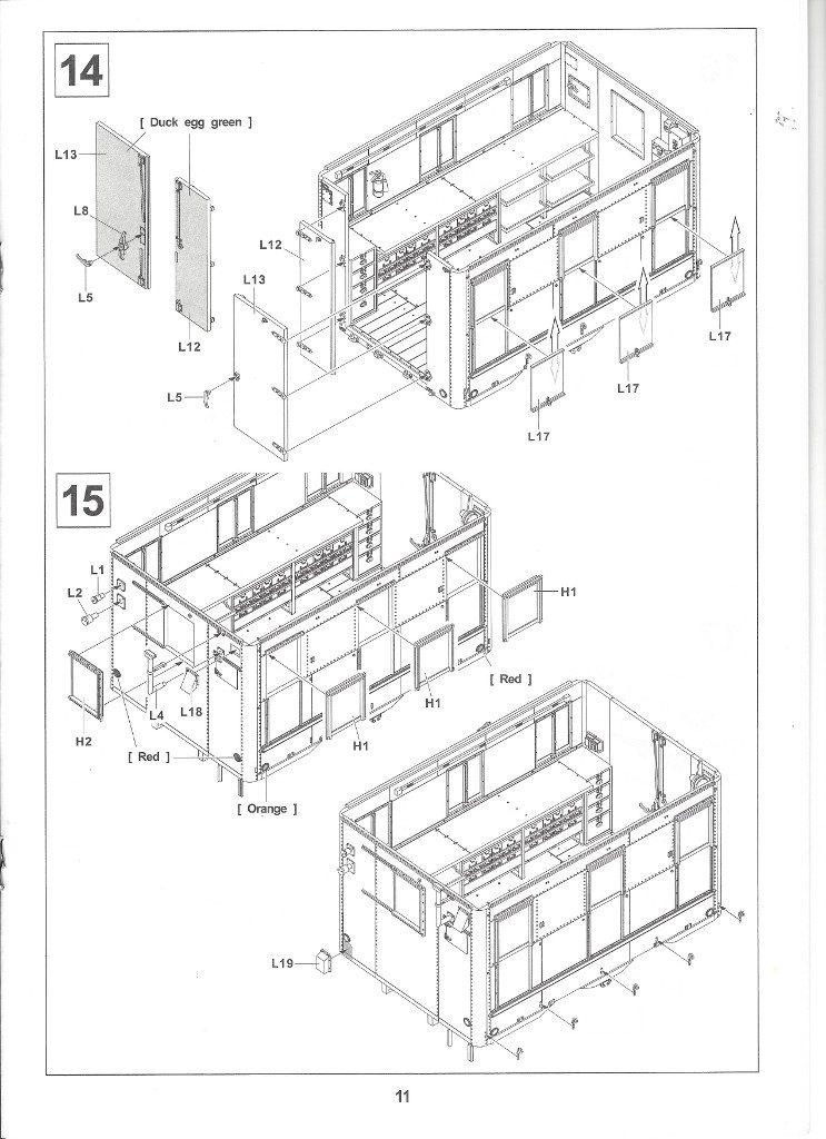Anleitung11-3-743x1024 M109A3 2.5-Ton 6×6 Shop Van 1:35 AFV Club (#AF35304)