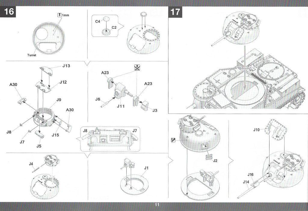 Anleitung12-2-1024x702 US Medium Tank M3 Lee Late 1:35 Takom (2087)