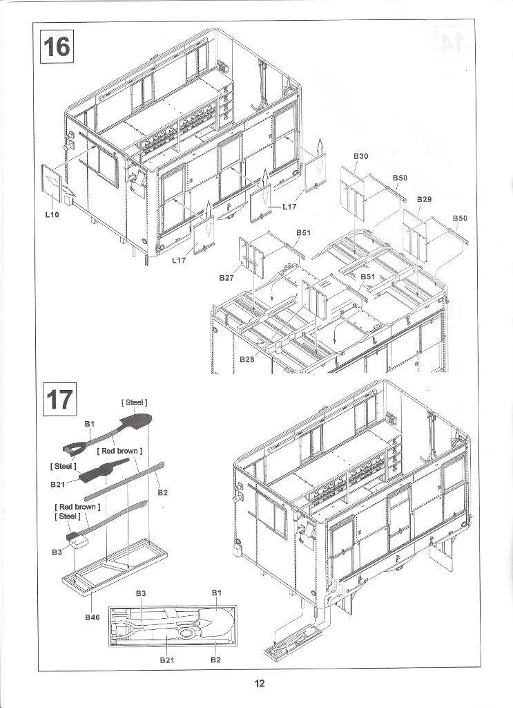 Anleitung12-3-743x1024 M109A3 2.5-Ton 6×6 Shop Van 1:35 AFV Club (#AF35304)