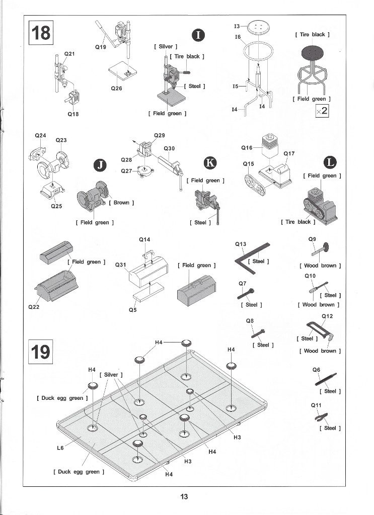 Anleitung13-2-743x1024 M109A3 2.5-Ton 6×6 Shop Van 1:35 AFV Club (#AF35304)