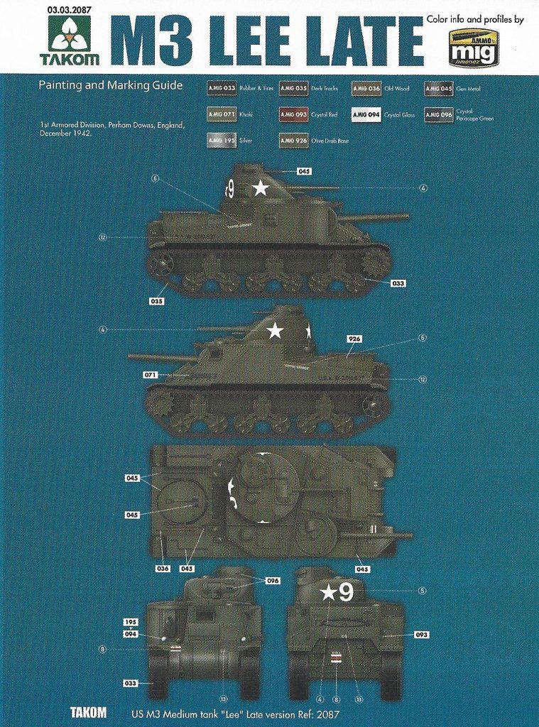 Anleitung14-1-759x1024 US Medium Tank M3 Lee Late 1:35 Takom (2087)