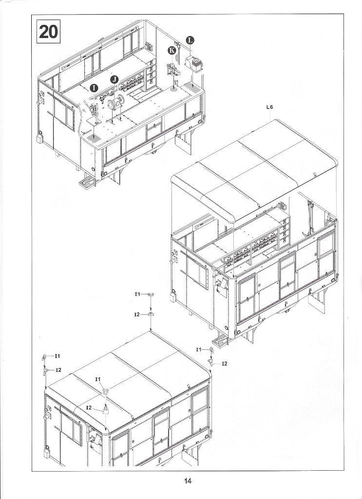 Anleitung14-2-743x1024 M109A3 2.5-Ton 6×6 Shop Van 1:35 AFV Club (#AF35304)