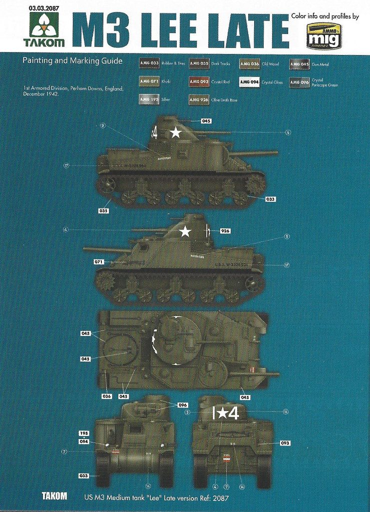 Anleitung15-1-741x1024 US Medium Tank M3 Lee Late 1:35 Takom (2087)