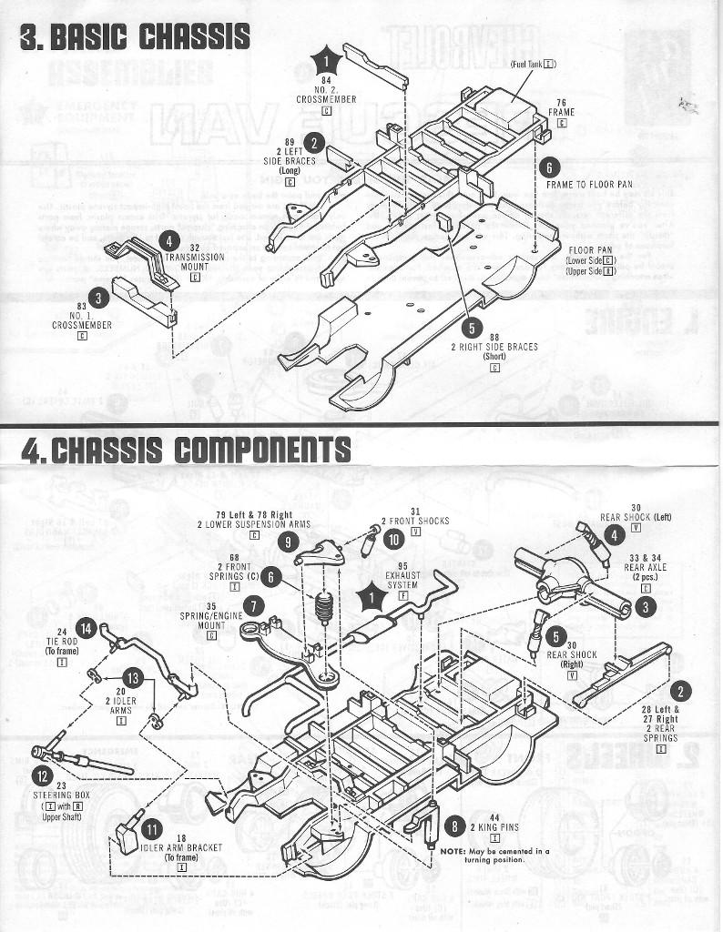 Anleitung2-1 Chevy Rescue Van 1:25 AMT (#812)