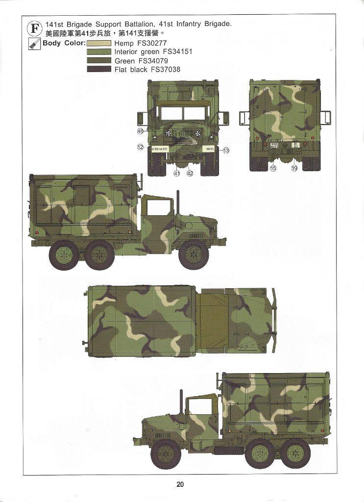 Anleitung20-1-743x1024 M109A3 2.5-Ton 6×6 Shop Van 1:35 AFV Club (#AF35304)