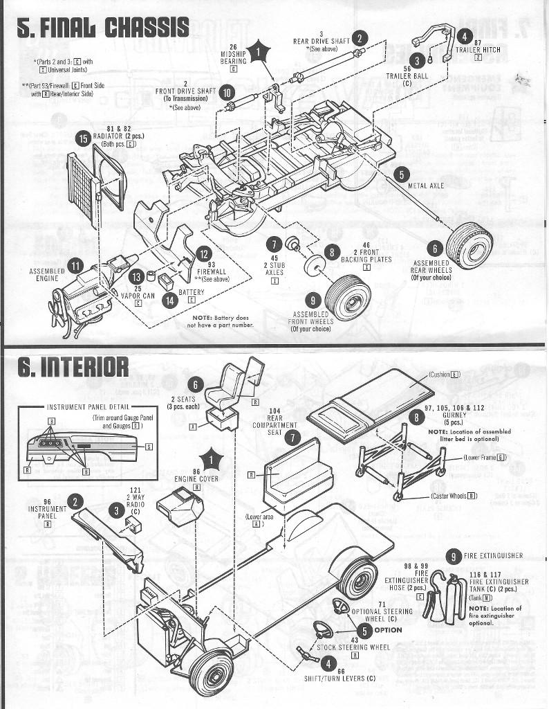 Anleitung3 Chevy Rescue Van 1:25 AMT (#812)