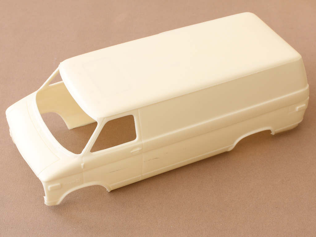 Body Chevy Rescue Van 1:25 AMT (#812)