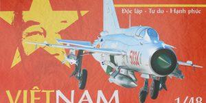 """MiG-21PFM """"Vietnam"""" 1:48 Eduard (#11115)"""