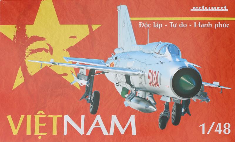 """Box-4 MiG-21PFM """"Vietnam"""" 1:48 Eduard (#11115)"""