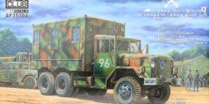 M109A3 2.5-Ton 6×6 Shop Van 1:35 AFV Club (#AF35304)