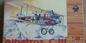 Kit-Archäologie – heute: Albatros C.III von Eduard im Maßstab 1:48 #8009