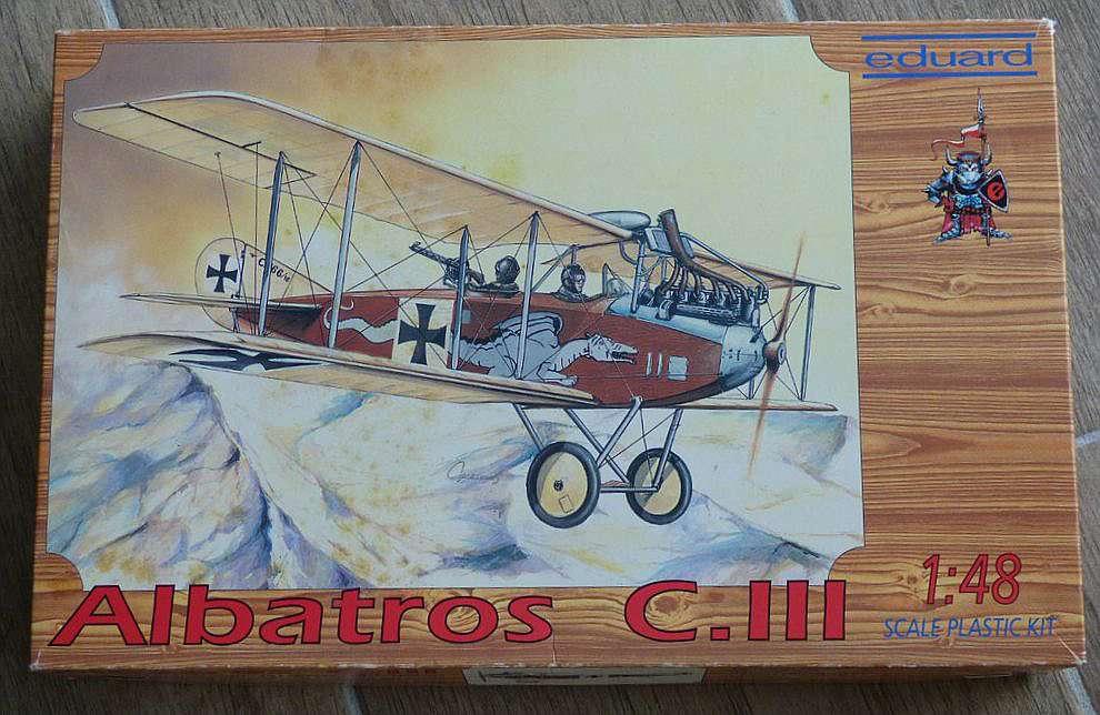 Eduard-8009-Albatros-C.III-1995-1 Kit-Archäologie - heute: Albatros C.III von Eduard im Maßstab 1:48 #8009