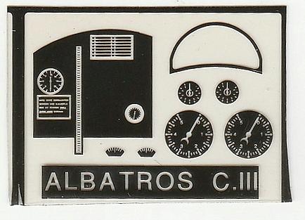 Eduard-8009-Albatros-C.III-1995-7 Kit-Archäologie - heute: Albatros C.III von Eduard im Maßstab 1:48 #8009