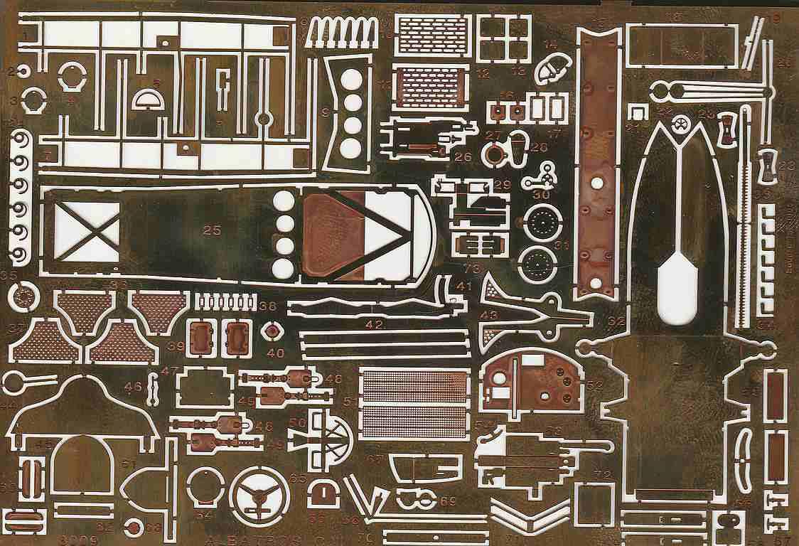 Eduard-8009-Albatros-C.III-1995-8 Kit-Archäologie - heute: Albatros C.III von Eduard im Maßstab 1:48 #8009