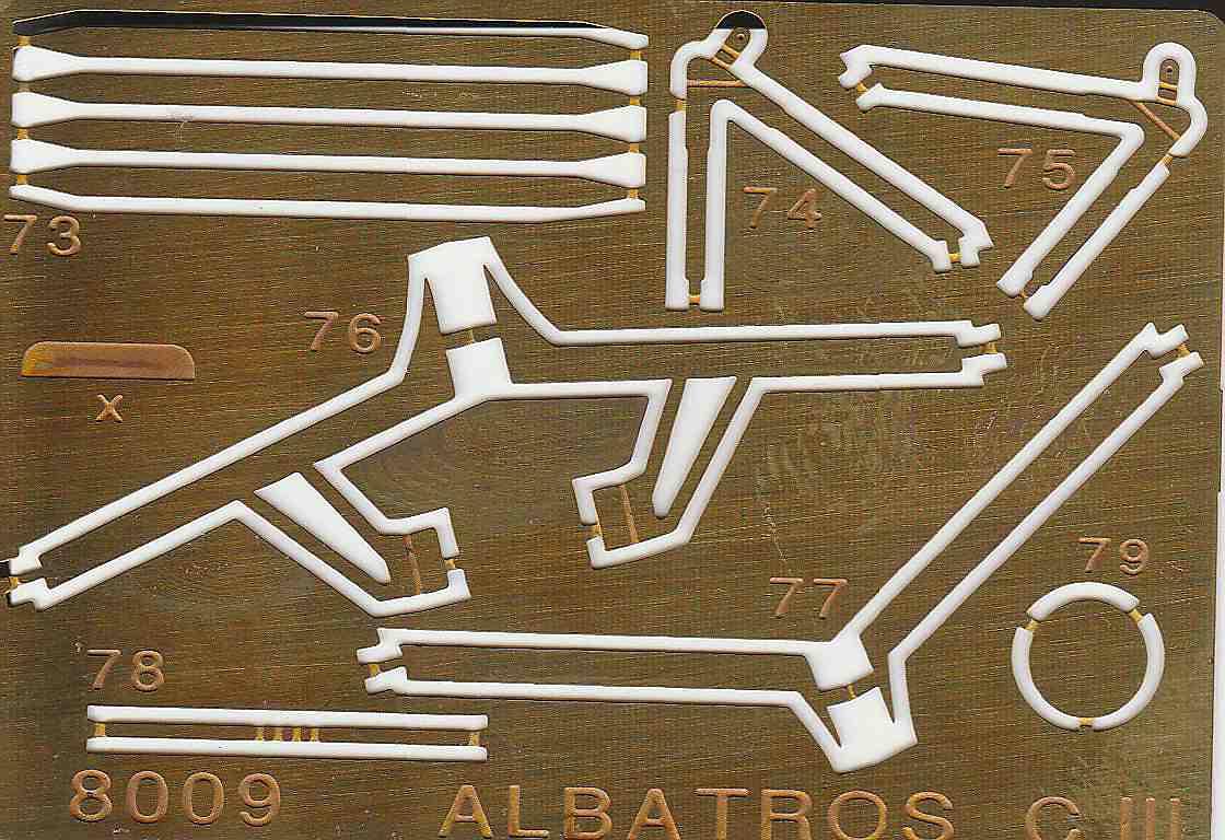 Eduard-8009-Albatros-C.III-1995-9 Kit-Archäologie - heute: Albatros C.III von Eduard im Maßstab 1:48 #8009