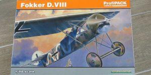 Fokker D.VIII in 1:48 von Eduard 8085